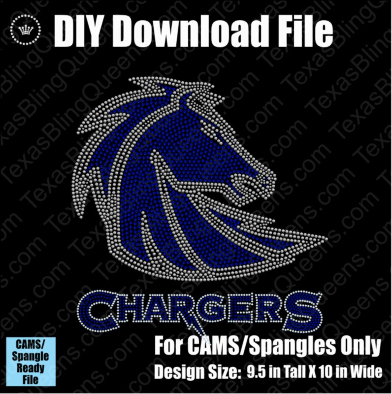 Chargers Mascot Download File - CAMS/ProSpangle