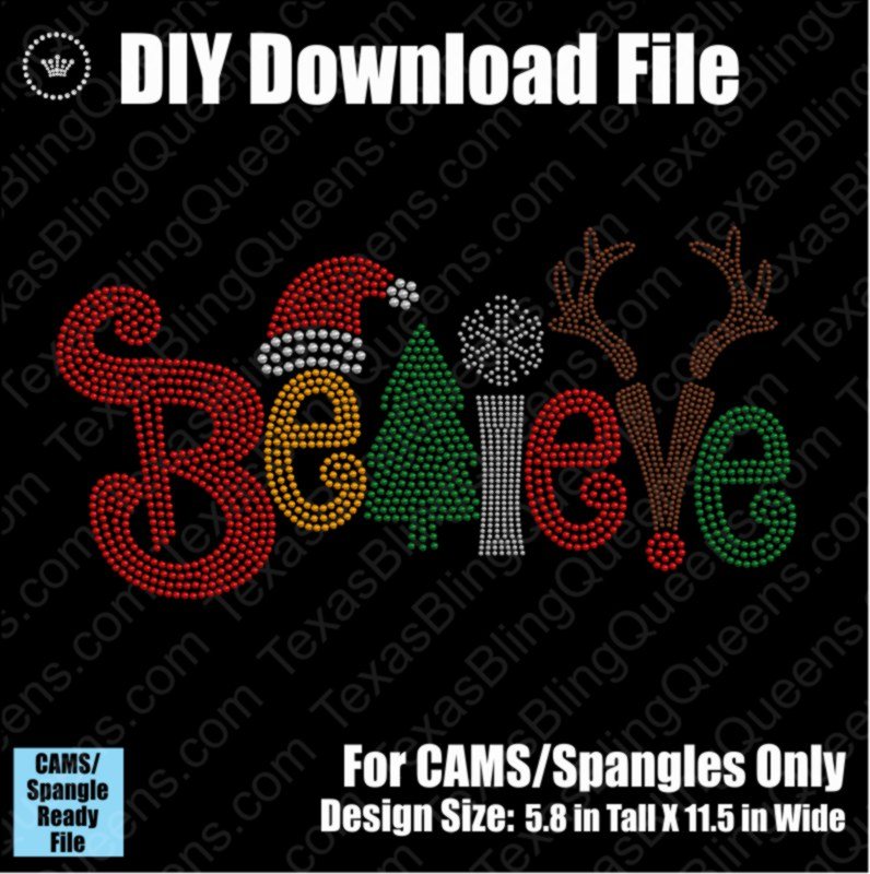 Believe #3 Christmas Download File - CAMS/ProSpangle