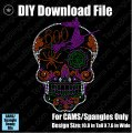 Halloween Sugar Skull Download File - CAMS/ProSpangle