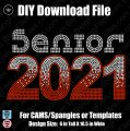 Senior 2021 Download File - CAMS/ProSpangle or Templates
