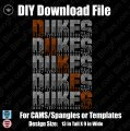 Dukes Word Strack Download File - CAMS/ProSpangle or Templates