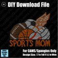 Sports Mom #4 with Track Download File - CAMS/ProSpangle
