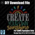 Create Your Own Sunshine Download File - CAMS/ProSpangle