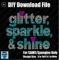 Glitter Sparkle Shine Download File - CAMS/ProSpangle