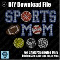Sports Mom with Balls Download File - CAMS/ProSpangle