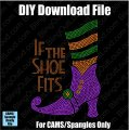 If the Shoe Fits Halloween Download File - CAMS/ProSpangle