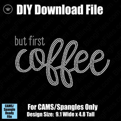 But First Bundle - Coffee Tea Proseco Mimosas 4 Pack Download File - CAMS/ProSpangle