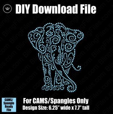 Elephant Mandala Download File - CAMS/ProSpangle