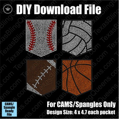 Sports Pocket Bundle Download File - CAMS/ProSpangle
