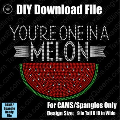 One in a Melon Download File - CAMS/ProSpangle
