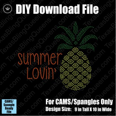 Summer Lovin' Pineapple Download File - CAMS/ProSpangle