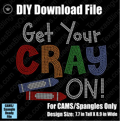 Get Your Cray On School Teacher Download File - CAMS/ProSpangle