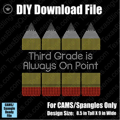 Always on Point Grade Bundle School Teacher Download File - CAMS/ProSpangle