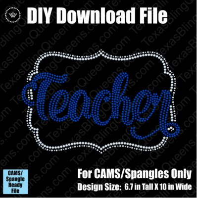 Teacher Name Frame Download File - CAMS/ProSpangle