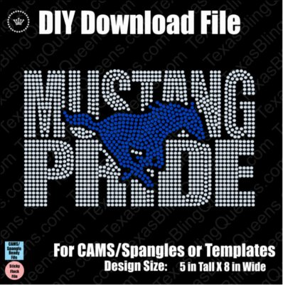 Mustang Pride Mascot Download File - CAMS/ProSpangle