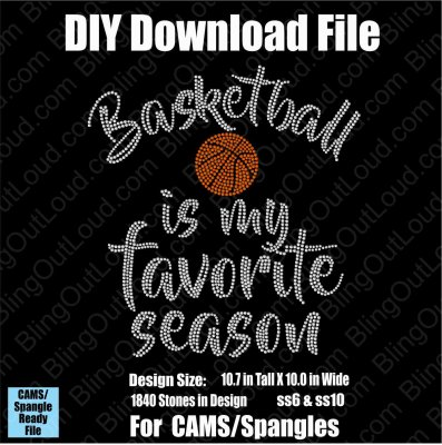 Basketball is my Favorite Season Download File - CAMS/ProSpangle