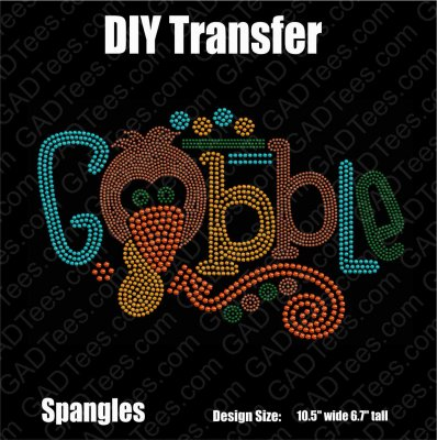 Gobble Thanksgiving Download Files -Adult and Youth 2 pack - CAMS/ProSpangle