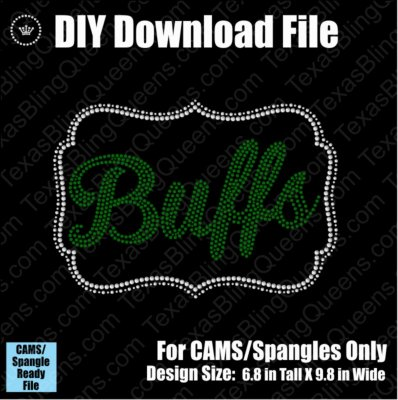 Buffs Name Frame Mascot Download File - CAMS/ProSpangle